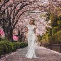 Catherine Deane Lavi, sheath wedding dress