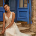 Moonlight Collection J6811, wedding dress, sexy wedding dress, fitted wedding dress, lace wedding dress, moonlight bridal wedding dress