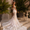Moonlight H1430, lace fitted wedding dress