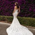 Pronovias Eithel, wedding dress, lace wedding dress, strapless wedding dress