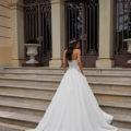 Pronovias Ingram, wedding dress, ball gown wedding dress, strapless wedding dress