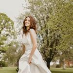 Nicola Anne Rapture, wedding dress, a-line wedding dress, mikado wedding dress, classic wedding dress, timeless wedding dress