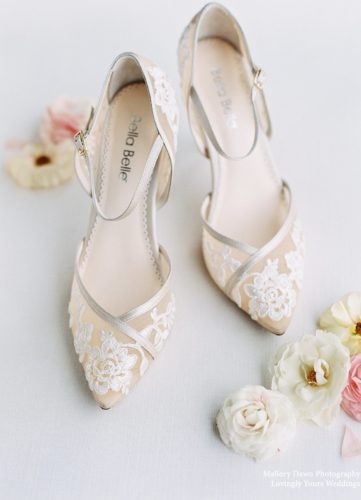 Bella Belle Shoes Claudia, wedding shoes, nude lace wedding shoes, lace wedding shoes, high heel wedding shoes, pretty wedding shoes, comfortable wedding shoes