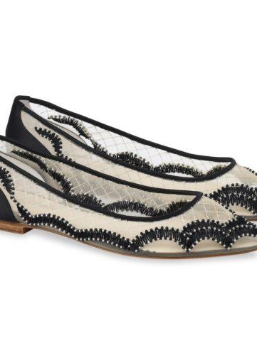 Bella Belle Shoes Eva, flat shoes, flat evening shoes, black flat shoes, pretty black flat shoes, embellished flat shoes, flat occasion shoes