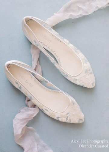 Bella Belle Shoes Fiona, Wedding shoes, comfortable wedding shoes, pretty wedding shoes, pretty shoes, ivory wedding shoes, flat wedding shoes, something blue, wedding shoe flats, pretty flat wedding shoes, beaded wedding flats