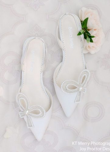 Bella Belle Shoes Kendra, wedding shoes, ivory wedding shoes, beautiful wedding shoes, modern wedding shoes, designer wedding shoes, flat wedding shoes