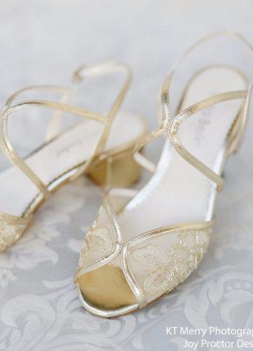 Bella Belle Shoes Loretta, wedding shoes, gold wedding shoes, beautiful wedding shoes, modern wedding shoes, designer wedding shoes, block wedding shoes