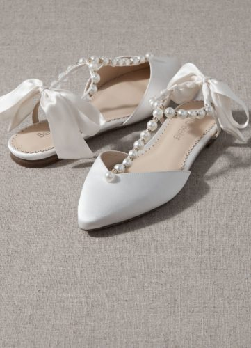 Bella Belle Shoes Lulu, Wedding shoes, comfortable wedding shoes, pretty wedding shoes, pretty shoes, ivory wedding shoes, satin wedding shoes, low heel wedding shoes, pearl wedding shoes, wedding flats, pretty wedding flat shoes