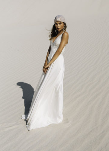 Catherine Deane Mitra, wedding dress