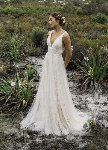Catherine Deane Nara, wedding dress