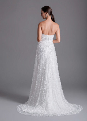 Caroline Castigliano Avryll, a-line wedding dress, soft a-line wedding dress, destination wedding dress, sparkly wedding dress, beaded wedding dress, wedding dress, wedding gown, wedding dresses, luxury wedding dress, made in the uk, bride to be