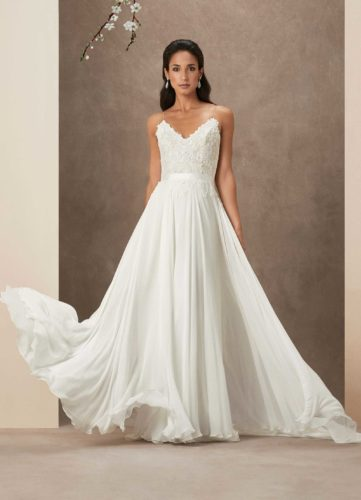 Caroline Castigliano Sakura, wedding dress, a-line wedding dress