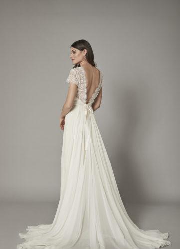 Catherine Deane Miles, wedding dress