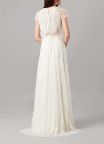 Catherine Deane Monica Skirt, bridal separates, bridal two-piece