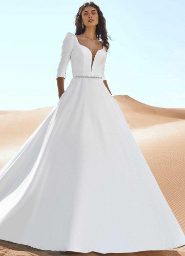 Pronovias Geyser wedding dress - Available at Rachel Ash Bridal boutique in Atherstone, Warwickshire