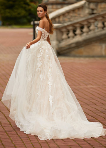 Moonlight Couture H1467, wedding dress, sexy wedding dress, fitted wedding dress, lace wedding dress