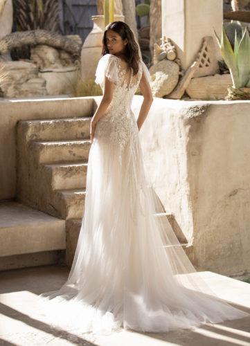 Pronovias Lake, wedding dress, a-line wedding dress