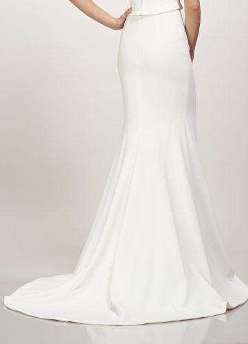 Theia Dakota Skirt, bridal separates, bridal two piece