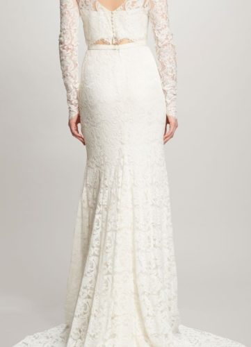 Theia Ines Skirt, bridal separates, bridal two piece