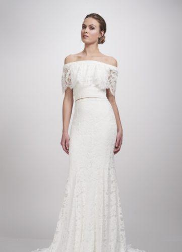 Theia Lanie Top, bridal separates, bridal two piece