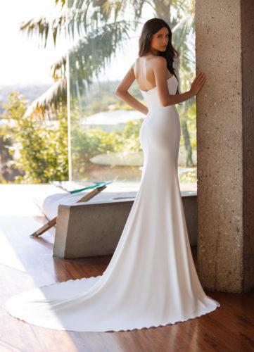 Pronovias Williams Wedding Dress - card back