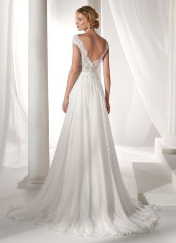 Nicole Spose NIAB19012, wedding dress, a-line wedding dress, flowy wedding dress, lace wedding dress