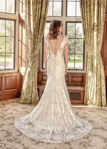 Nicola Anne Venus and Sateen Slip, wedding dress, lace wedding dress, fitted wedding dress