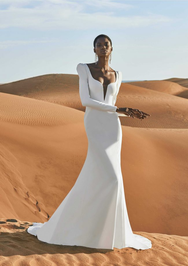 Pronovias Antelope wedding dress - Available at Rachel Ash Bridal boutique in Atherstone, Warwickshire