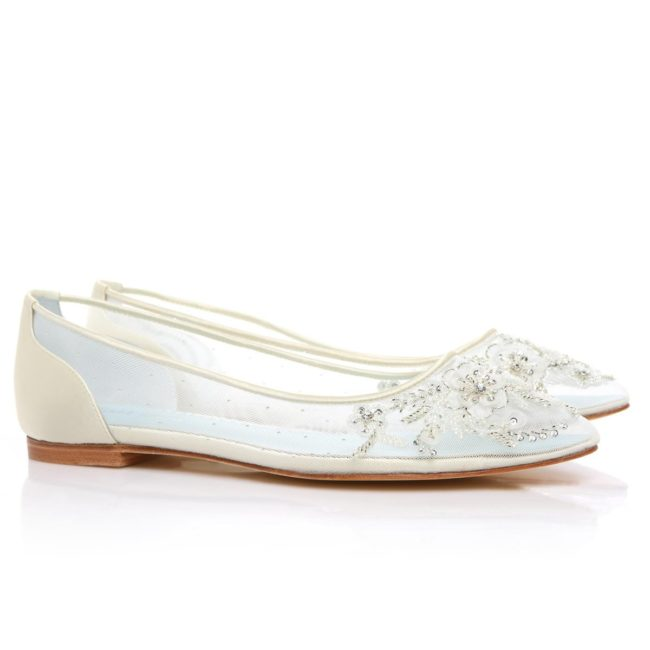 Bella Belle Shoes Adora, wedding shoes, wedding flat shoes, beaded wedding flats, comfortable wedding shoes, pretty wedding shoes, ivory wedding shoes