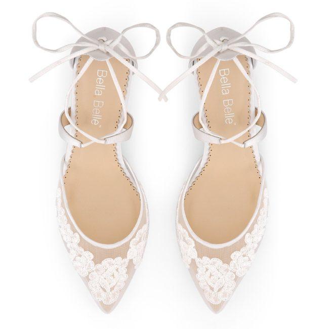 Bella Belle Shoes Amelia, wedding shoes, lace wedding shoes, comfortable wedding shoes, ivory wedding shoes, pretty wedding shoes, kitten heel wedding shoes, kitten heel