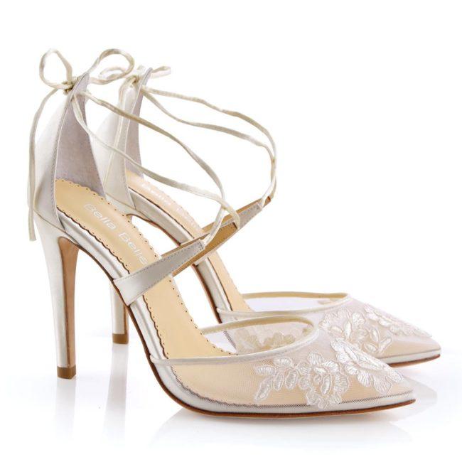 Belle Belle Shoes Anita, wedding shoes, lace wedding shoes, occasion shoes, comfortable wedding shoes, pretty wedding shoes