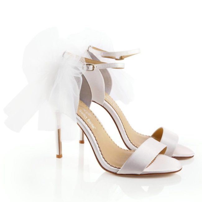 Bella Belle Shoes Elise, wedding shoes, high heel wedding shoes, ivory wedding shoes, strappy wedding shoes, open toe wedding shoes, wedding sandals, comfortable wedding shoes, pretty wedding shoes, modern wedding shoes