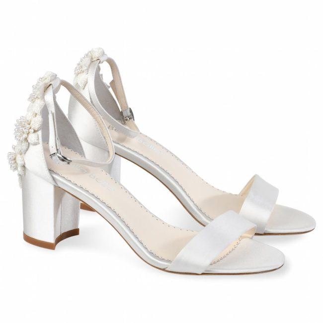 Bella Belle Shoes Fabiola, Wedding shoes, comfortable wedding shoes, pretty wedding shoes, pretty shoes, ivory wedding shoes, block heels, block heel wedding shoes, ivory wedding shoes, wedding sandals