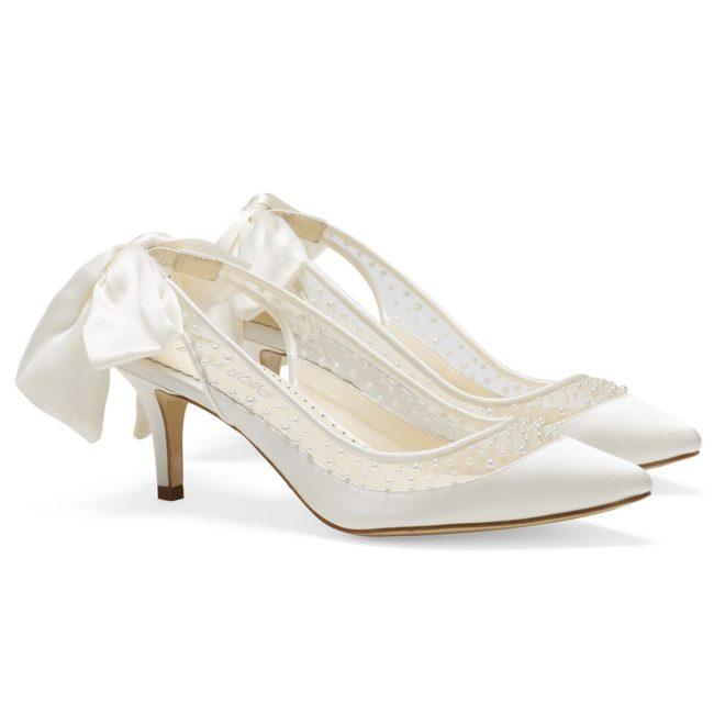 Bella Belle Shoes Georgia, Wedding shoes, comfortable wedding shoes, pretty wedding shoes, pretty shoes, ivory wedding shoes, low heel wedding shoes, kitten heels, kitten heel wedding shoes, closed toe wedding shoes, pearl wedding shoes
