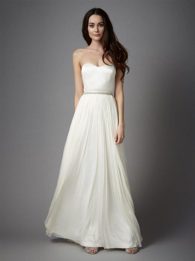 Catherine Deane Anika Skirt, bridal separates, bridal two-piece
