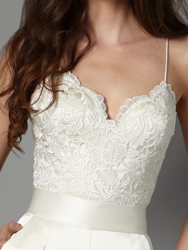 Catherine Deane Havanna Corset, bridal separates, bridal two-piece