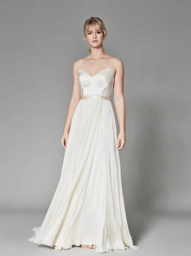 Catherine Deane Kameron, a-line wedding dress