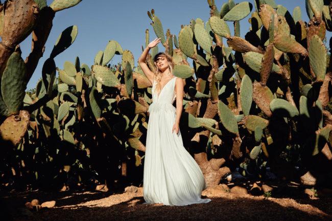 Catherine Deane Reeve, wedding dress, flowy wedding dress, lightweight wedding dress, modern wedding dress, destination wedding dress, catherine deane wedding dress