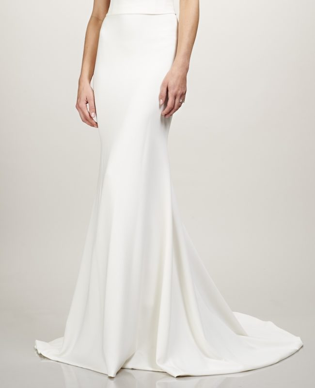 Theia Dakota Skirt, bridal separates, bridal two piece
