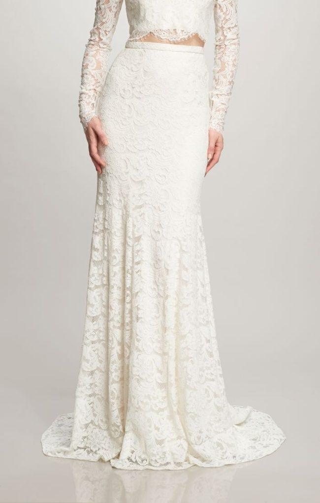 Theia Ines Skirt, bridal separates, bridal two piece