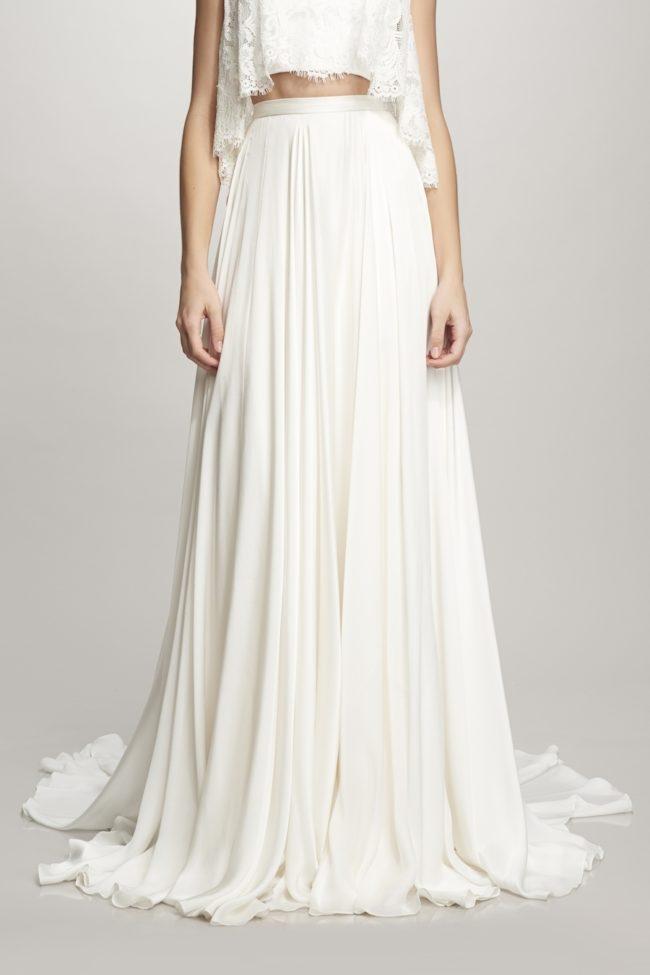 Theia Marlena, bridal separates, bridal two piece