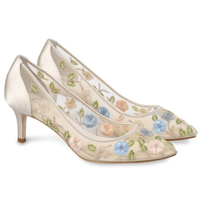 Bella belle shoes flower embellished embroidered evening kitten heels sierra 1200x1200 SIERRA