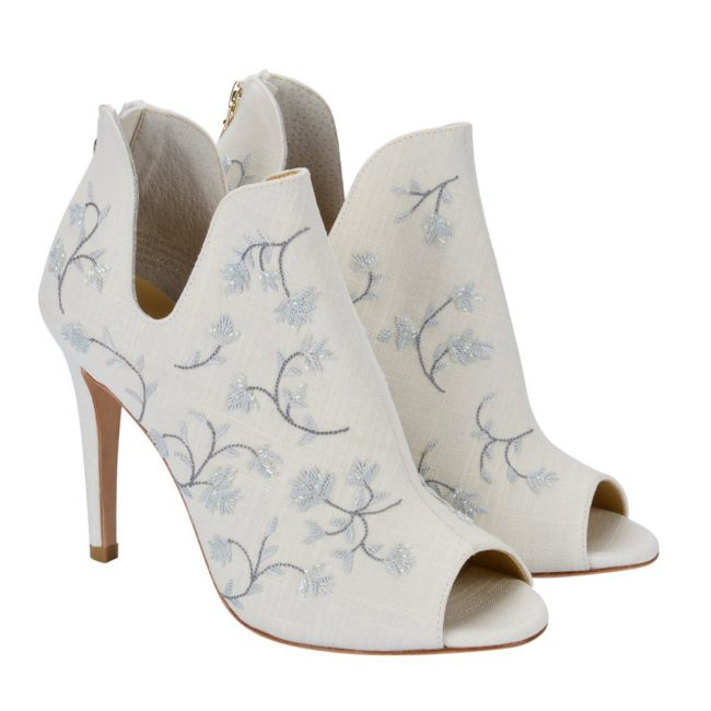Bella belle shoes french blue embroidered wedding booties by joy proctor peony blue 1200x1200 PEONY BLUE