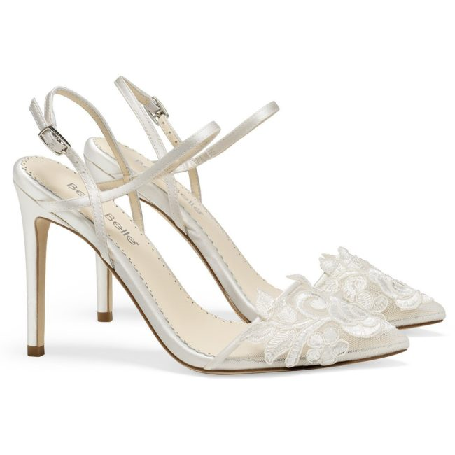 Bella belle shoes ivory flower embroidered lace wedding heel sylvia 1200x1200 SYLVIA